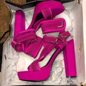 Fashion Nova strap heels